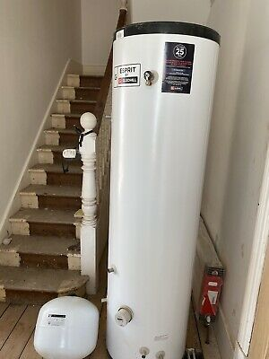 £410 • Buy Gledhill SESINPIN200 Stainless Steel 295L Unvented Indirect Water Cylinder.