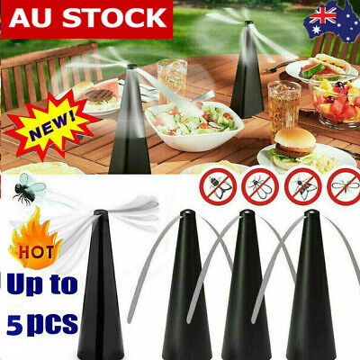 AU4.99 • Buy 1-5X Automatic Fly Trap Fly Repellent Fan Keep Flies+Bugs Food From Away Fruits.