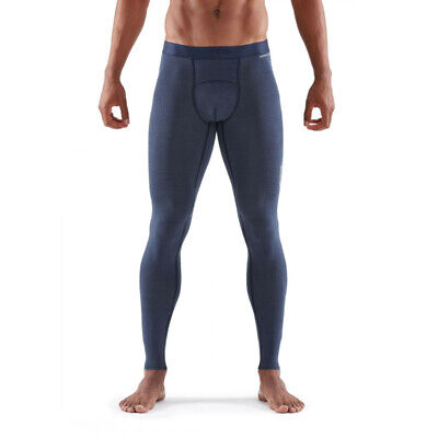 £34.99 • Buy Skins Mens DNAmic Sleep Recovery Long Compression Tights Bottoms Pants Trousers
