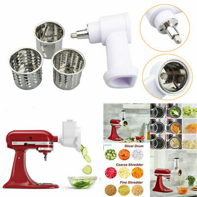 £19.99 • Buy Vegetable Shredder/Slicer/Cheese Grater Attachment For KitchenAid Stand Mixer UK