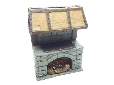 AU14.99 • Buy WarLock Tiles Accessory: Kitchen - Kitchen Large Stove With Flames