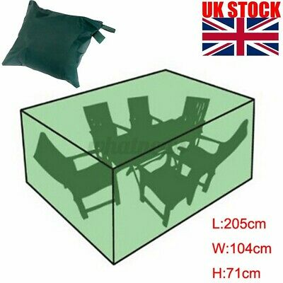 £14.09 • Buy Green Waterproof Garden Patio Furniture Set Cover For Outdoor Rattan Table Cube
