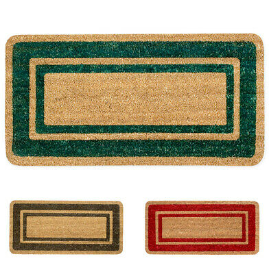 £22.69 • Buy Doormat Coconut Theshold Entrance Non-Slip Fibers Natural Sits Mud Heavy Duty