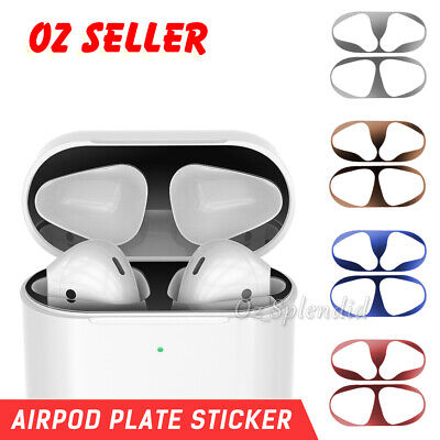 AU4.95 • Buy Iron Shaving Metal Film Sticker Dust Guard Protector Cover For AirPods Airpod1 2