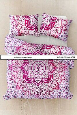 £21.37 • Buy Queen Size Duvet Cover With Pillow Case Bohemian Bedding Quilt Cover Comforter