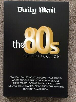 £9.99 • Buy Daily Mail  The 80s CD Collection