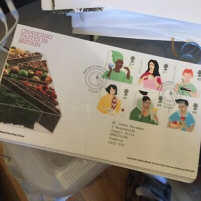 £199 • Buy GB FDC  2005 CHANGING TASTES IN BRITAIN, FIRST DAY COVER Cookstown Pmk