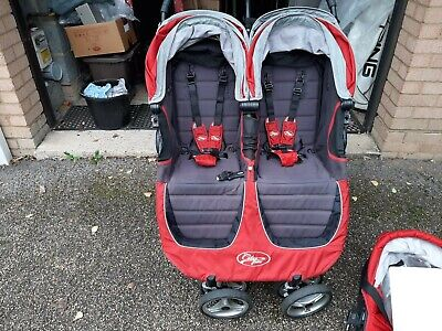 £150 • Buy Baby Jogger City Mini Double Pushchair - Red
