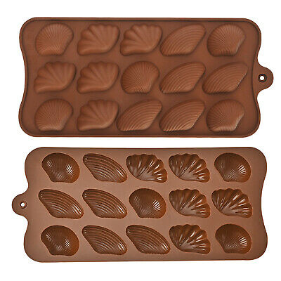 £2.69 • Buy Shells Silicone Mould Wax Melts Ice Chocolates Jelly Sea Shell Mold Decoration