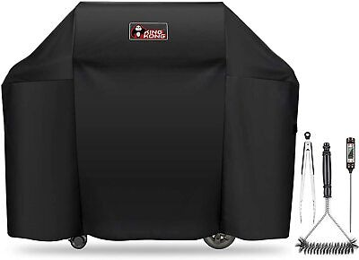 $ CDN85.99 • Buy Grill Cover Weber Genesis Burner Grill Including Brush Tongs Thermometer