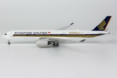AU104.95 • Buy NG Model 1:400 Singapore Airlines A350-900 XWB '10,000th Airbus Aircraft' 9V-SMF