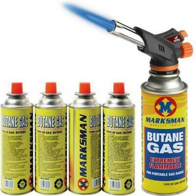 £24.99 • Buy Butane Gas Blow Torch Flamethrower Burner Welding Auto Ignition Camping Tool NEW