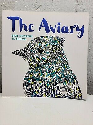 £3.64 • Buy The Aviary, Bird Portraits To Color, Coloring Book (2016, Trade Paperback)