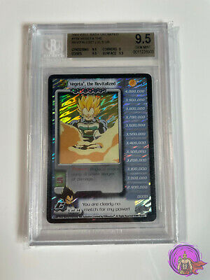 AU6000 • Buy Dragon Ball Z DBZ CCG TCG 159 Vegeta The Revitalized LV5 BGS 9.5 Ultra RARE Card