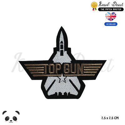 £1.99 • Buy Top Gun Movie Patch Embroidered Iron On Sew On PatchBadge For Clothes
