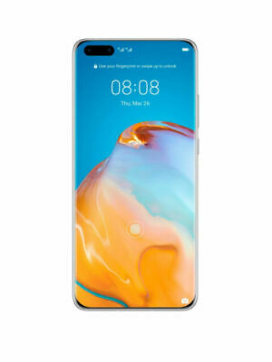 New Huawei P40 Pro  256GB  Silver Frost (Unlocked) (Dual SIM) 5G Mobile Phone  • 459.99£