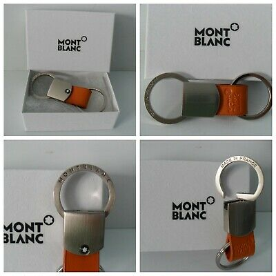 £87.46 • Buy Montblanc Keyring Stainless Steel Palladium Authentic EX. Condition + Gift Box