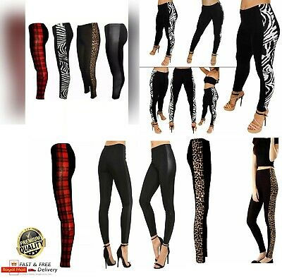 £6.99 • Buy New Ladies Womens Printed Skiny Full Length Leggings Sexy Stretchy Trouser Pant