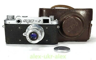 $57 • Buy Early Russian FED-2 With FED Lens M39 RF Camera.Exc,repaired №028138