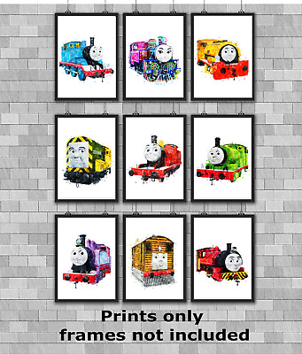 £3.49 • Buy Thomas The Tank Engine Children's Bedroom Wall Art Poster Print A5 A4 A3