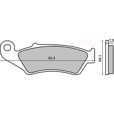 $44.65 • Buy Front Brake Pads Yamaha YZ 125 1999 2000 2001 2002 2003 2004 2005