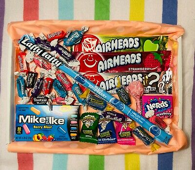 £5.75 • Buy American Sweet Gift Box USA Imported Candy Hamper FREE Delivery 30 Items!!!