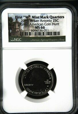 $ CDN32.64 • Buy 2019 W San Antonio Missions Quarter - NGC MS 66