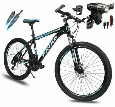 AU279 • Buy Multiple Color 26  21 Speed Mountain Bike Bicycle Disc Brake Front Suspension