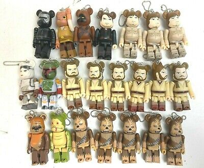 $167.40 • Buy Medicom 100% Bearbrick Star Wars Lot Of 22 Luke Skywalker Chewbacca Kylo Ren