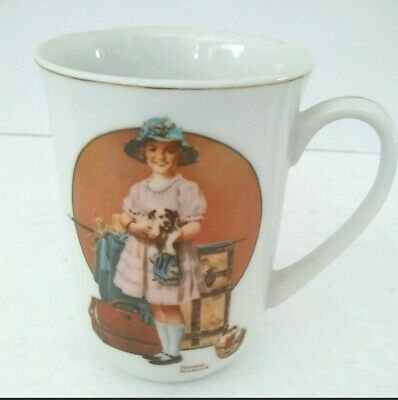 $ CDN18.73 • Buy VTG 1981 Norman Rockwell  Vacation's Over  Collectible Porcelain Coffee Mug