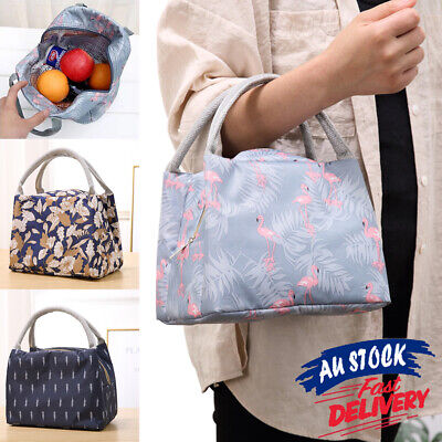 AU10.75 • Buy Thermal Insulated Picnic Lunch Bag Box Storage Cooler Tote Oxford Portable Carry