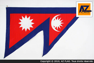 £9.95 • Buy NEPAL FLAG 3' X 5' - NEPALESE FLAGS 90 X 150 Cm - BANNER 3x5 Ft High Quality - N