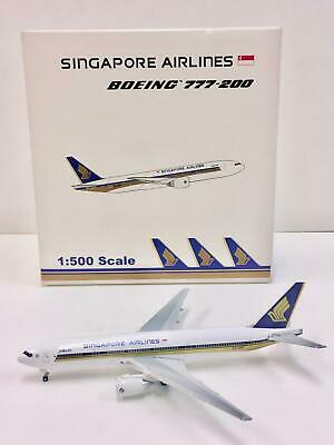 AU116.67 • Buy Star Jets Singapore Airlines Boeing 777-200 1:500 9V-SRF