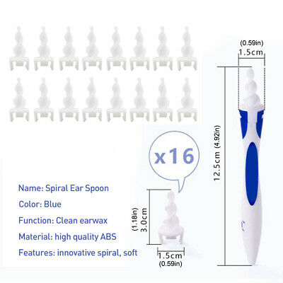 $ CDN9.18 • Buy 17pcs Ear Wax Removal Tool Ear Wax Cleaner Q-Grips Ear Wax Remover With 16Tips