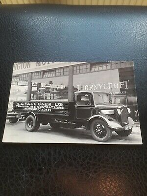 £29 • Buy 1930s Bedford Lorry Promotional Photograph
