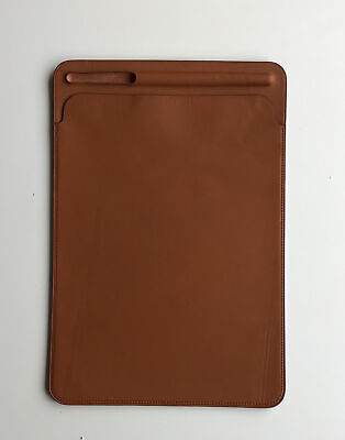 £25 • Buy Genuine Apple Leather Sleeve Case Saddle Brown 7th /8th Gen IPad Pro 10.5 Air 3