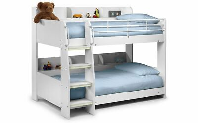 £479.99 • Buy Domino Bunk Bed White Childrens Kids Bed  2 Man Delivery By Appointment