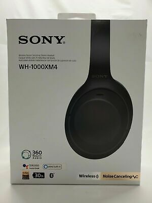 $ CDN316.68 • Buy Sony WH-1000XM4 Over The Ear Noise Cancelling Wireless Headphones
