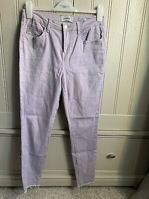 New Look Lilac Skinny Jeans Size 14 • 4£