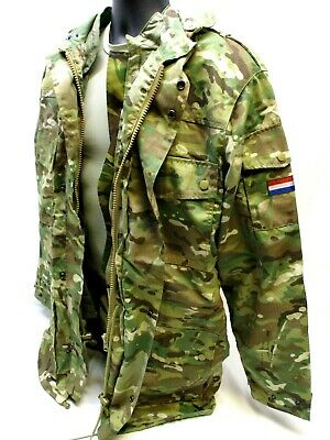 $94.95 • Buy NATO MILITARY FIELD JACKET W. LINER MULTICAM COAT SMALL NETHERLANDS ARMY M65
