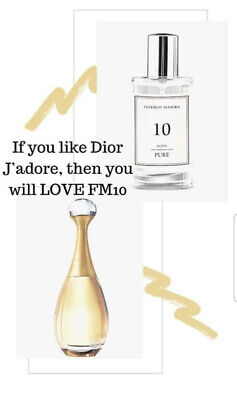 £16 • Buy FM 10 Pure Collection Federico Mahora Perfume For Women 50ml