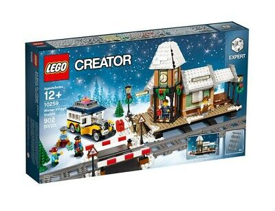 Lego Creator Expert Winter Village Station (10259) | Brand New In Sealed Box • 136£