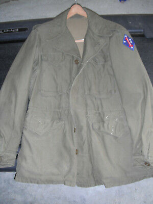 $165 • Buy WW2 USMC M-43 JACKET, NAMED, 5th MARINES/1st MARINE DIVISION From GROUPING !!