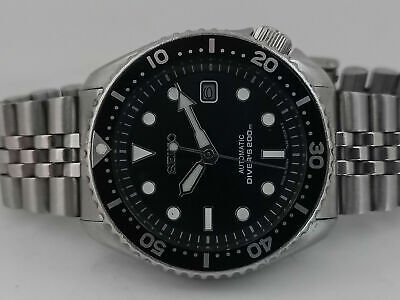 $ CDN93.07 • Buy Vintage Black Sunburst Mod Seiko Diver 7002-7001 Automatic Men's Watch 382321
