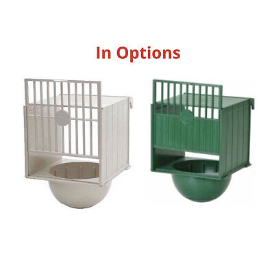 £9.99 • Buy Bird Breeding Nest Pan Box Canary Finch With External Hook For Aviary Cage