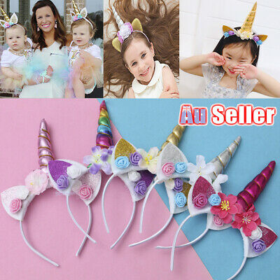 AU9.98 • Buy Selling Unicorn Headband Halloween Funny Cute Children