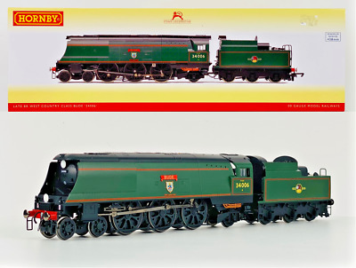 Hornby 00 Gauge - R3310 - Br 4-6-2 Late West Country Class 'bude' 34006 Boxed • 149.99£