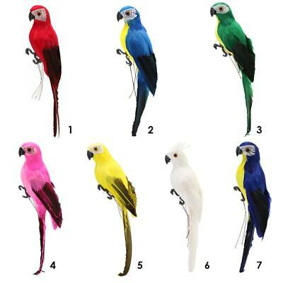 £4.97 • Buy Fake Parrot Ornament Birds Sparrow Imitation Animal Outdoor Garden Lawn Decor UK