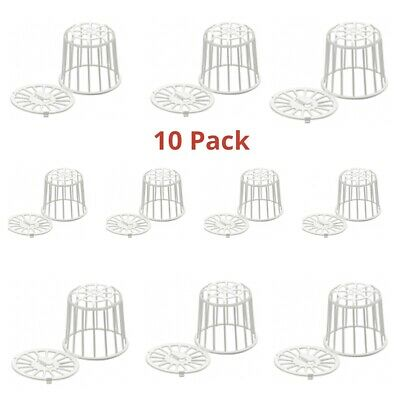 £10.99 • Buy 10 X Bird Nesting Material Holder For Cage Aviary Finch ,Canary, Budgie Etc