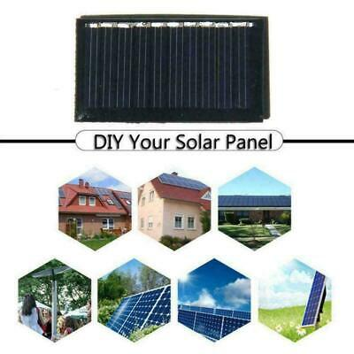 AU2.21 • Buy Mini 5v 0.125w Solar Panel System For DIY Battery F2B8 Charger Cell Phone O4J1